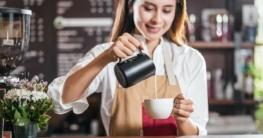 Espresso mit Milch